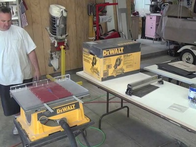 New Miter Saw DEAL , Made a crosscut sled & shop talk