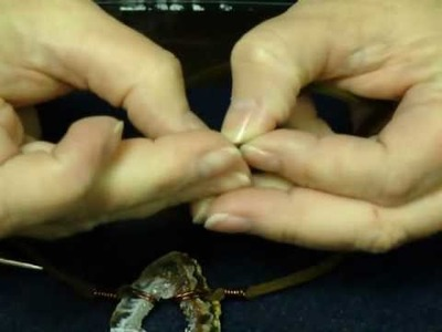 Organic Necklace Video - AuntiesBeads.com