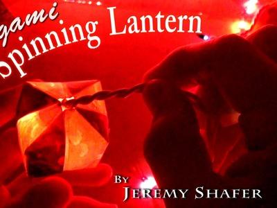 Origami Spinning Lantern