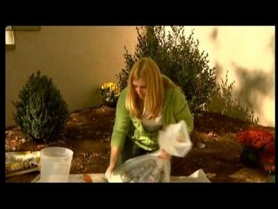 "PBS - ""For Your Home"" - Making Concrete Garden Mold Stepping Stones"