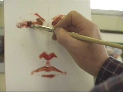 Polarizing Oil Portrait Painting  Demo by Jon Houglum Part 1