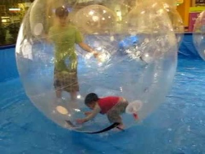 Put your kid in a giant bubble