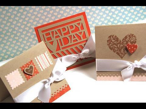 Three Valentine's Day Cards - Make a Card Monday #97