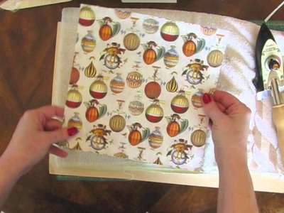Tutorial: Fusing Papers & Origami Bowl