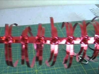 Valentine Ribbon Heart Trinket