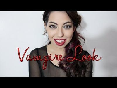 Vampire Look (DIY COSTUME)