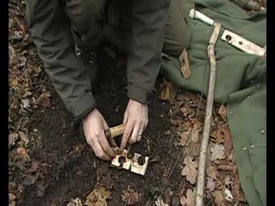 An Instructional video on the bow drill fire lighting