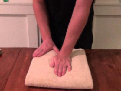 ASMR Towel Folding
