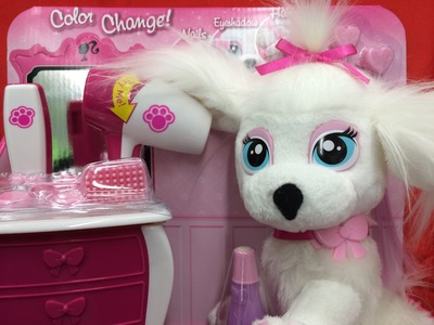 Barbie Pamper Paws Doll Salon with lots of accessories