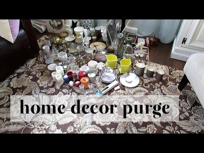 Home Decor Purge + Tips Using The KonMari Method