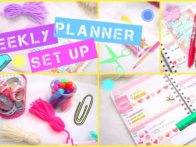 How I Set Up My Planner | #PrettyPlanning