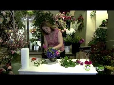 How to Arrange Flowers in a Bubble Bowl Centerpiece