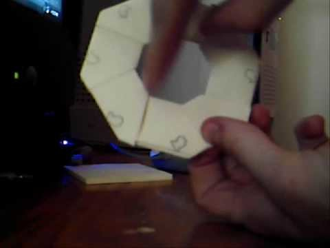 How to make a transforming ninja paper star