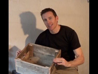 HOW TO MAKE A WOOD CRATE USING A WOOD PALLET