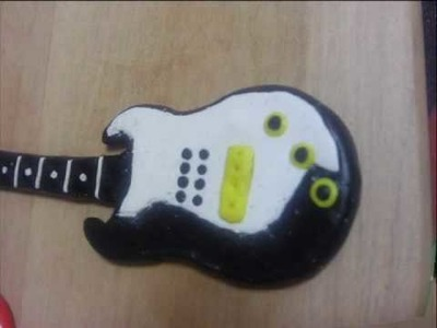 How to make cool guitar from fimo.polymer clay