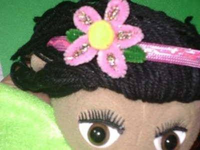 How to make cute hair band decoration for your little girl - EP