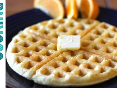 How To Make Waffles - Basic Waffle Recipe