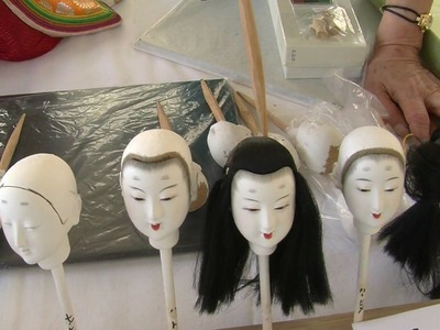Kimekomi Doll Making at the Smithsonian Folklife Festival 2010