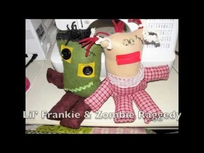 Not So Scary Lil' Monster Sewing Party - How to make a softy monster
