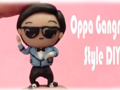 Oppa Gangnam Style Polymer Clay Chibi Tutorial
