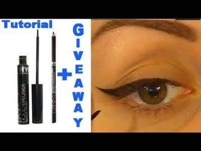 Perfect Your Winged Eyeliner (Beginners Guide.Fool Proof) + NYC Giveaway!