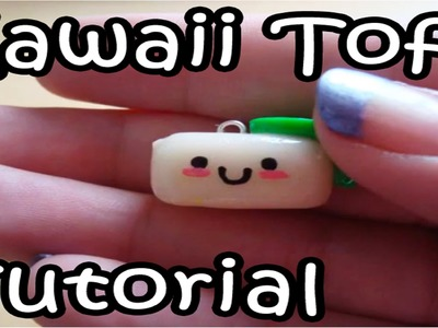 Polymer Clay Tutorial: How to Make a Cute Tofu Charm