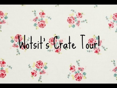 Rabbit Cage Tour | Wotsit's Crate!