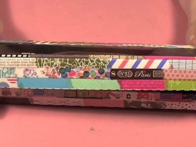 Scrap Time - Ep. 669 - Washi Tape Holder