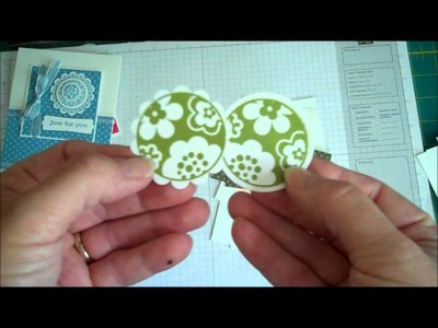 Stampin' Up! Quick and Easy Circle Punch Card Set