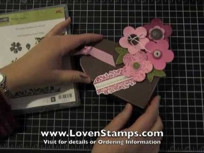 Valentine Candy Box: Sneak Peek for Stamps in the Mail Club