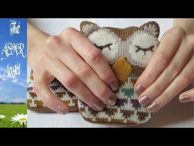 ASMR Owl Wool Hand Warmers - No speaking (Binaural - 3D Sound)