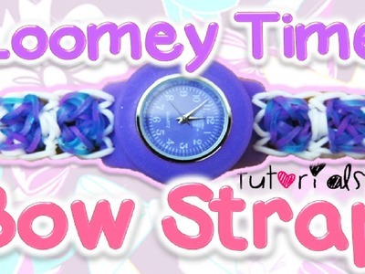 Bow Bracelet Attachement to Loomey Time Watch Tutorial | How To