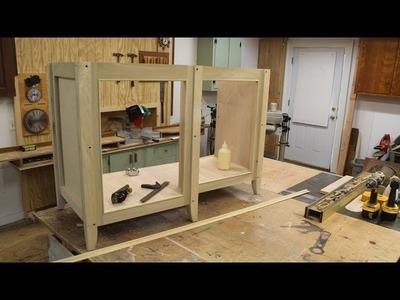 Build a Bathroom Vanity Cabinet Part 1
