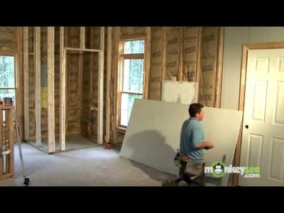 Build a Closet - Hanging the Drywall