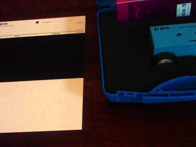 BYK-Gardner Pencil Hardness Tester Part 1