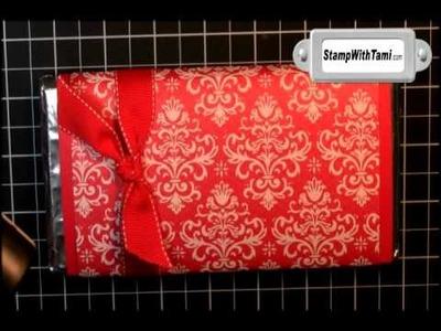 Candy Bar Gift Card Holder