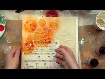 Christy Tomlinson: Behind the Art: Stencils & Masks Part 1