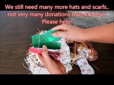 Donations hat and scarf drive update
