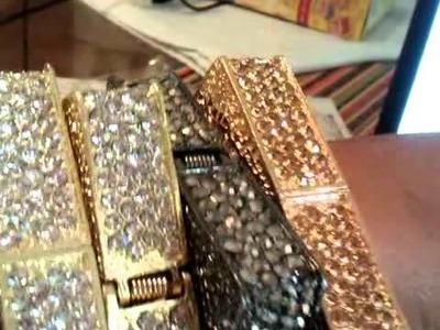 Draya Square Swarovki Crystal Bracelet, Kimbella Bracelet