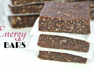 Easy Homemade 3-Ingredient Energy Bars | Fablunch