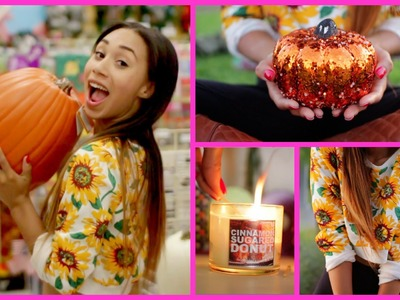 FALL INSPIRATION! ♡ Outfit, Room Decor, Beauty, Candles!