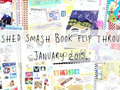 Finished Smash Book flip through! - January 2015 | MyGreenCow