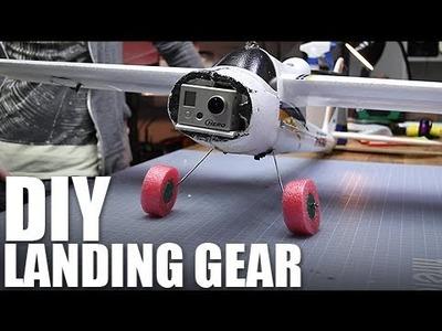 Flite Test - DIY Landing Gear - FPV Bixler!