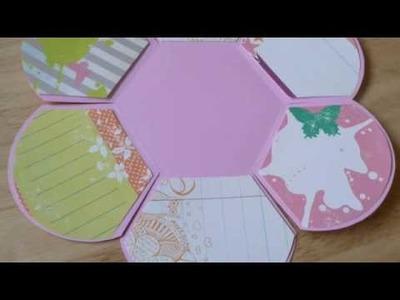 Folding Flower mini album