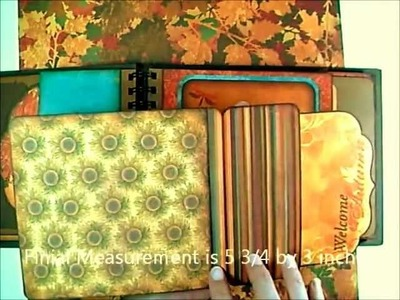 Forever Fall Envelope Mini Album Tutorial