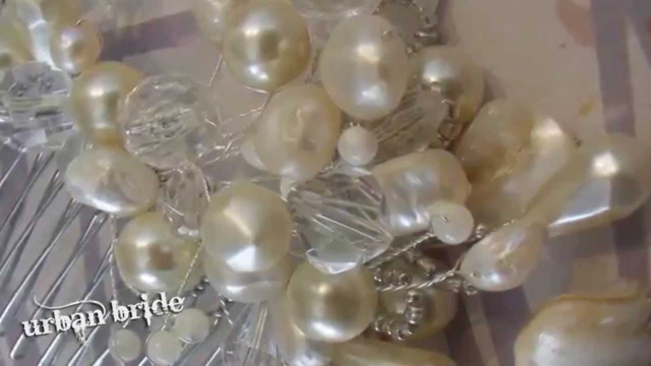 Handmade Vintage inspired wedding Tiaras
