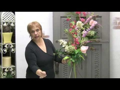 How To Design With Silks - Floral Design Series: How To Make A Door Spray Decoration