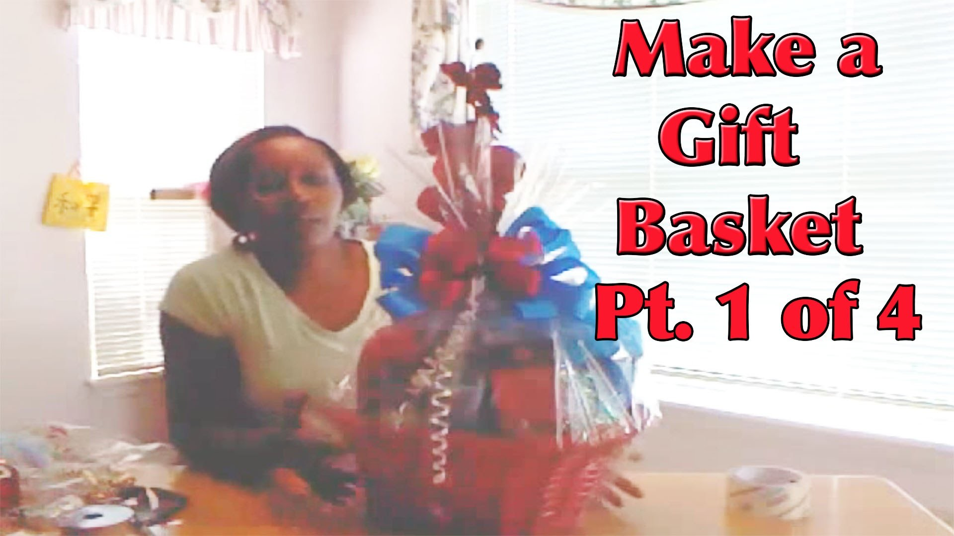 How to Make a Gift Basket - Part 1 - Giftbasketappeal
