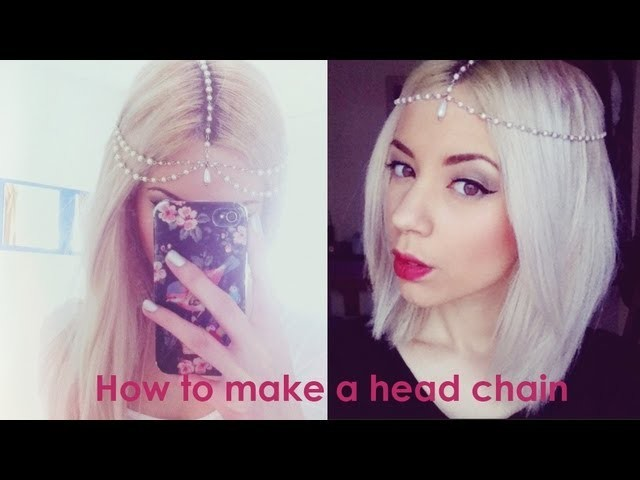 How to make a Head Chain PLUS Give Away!