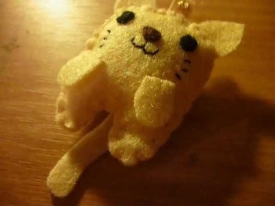 How to Make a Kawaii Kitten Plush from Felt